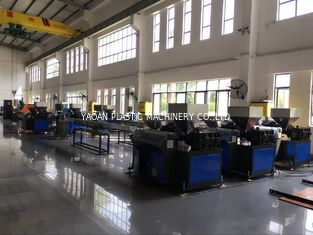 China High Speed PP PE Plastic Artificial Rattan Wicker Making Machine factory