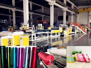 AF-1000mm PP Jumbo Roll Ribbon Film Sheet Extrusion Machine For Gift Packaging