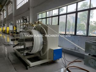 China AF-63 HDPE Pipe Extrusion Production Line , Plastic Pipe Extrusion Machine factory