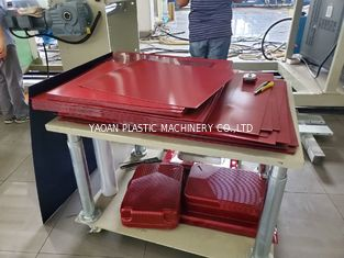 High Output 4 Layers PC Luggage  Sheet Extrusion Machine for Making Hard Trolley Cases