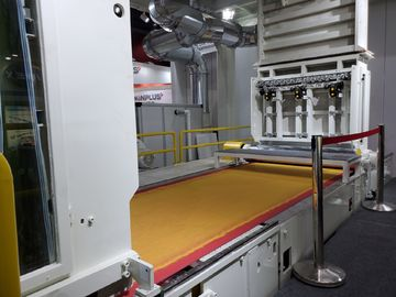 Double Beams SS Nonwoven Fabric Making Machine , Non - Woven Making Machinery