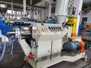 PP PLA High Output Drinking Straw Extrusion Machine , Drink Straw Making Machine
