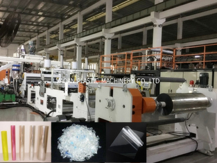 PET Plastic Sheet Extrusion Machine For Producing PET Food Box Sheet