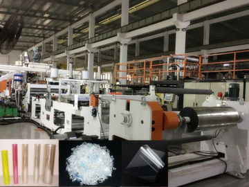 China PET Plastic Sheet Extrusion Machine For Producing PET Food Box Sheet factory
