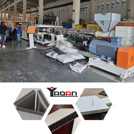 3 Layers PP Plastic Hollow Building Formwork Construction Template Production Line