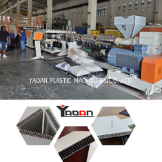China 3 Layers PP Plastic Hollow Building Formwork Construction Template Production Line factory