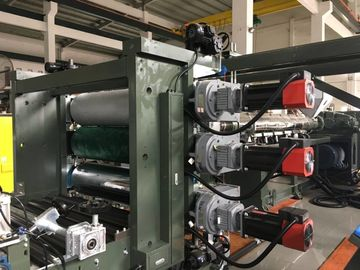 HDPE 3D Geocomposite Drain , Composite Drainage Board Extrusion Machine