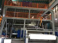 AF-3200mm PP Spunbond Nonwoven Fabric Making Machine , S SS SMS  Nonwoven Fabric Production Line supplier