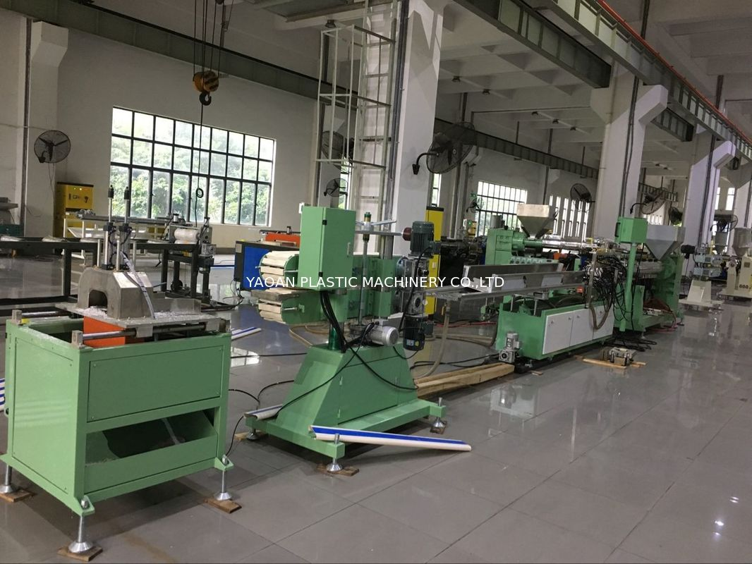PVC Wall Guard System Plastic Profile Extrusion Machine Perfect Working Performance supplier