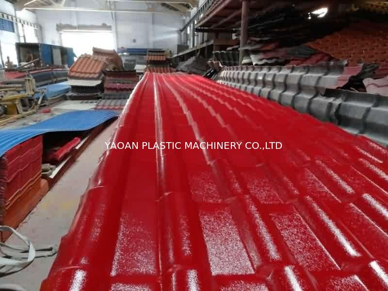 High Output Capacity Plastic Roofing Sheet Manufacturing Machine 65mm Screw supplier