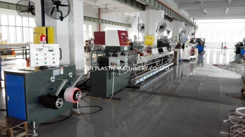 Pp Strap Manufacturing Machine , Pet Strap Extrusion Line Single Screw supplier
