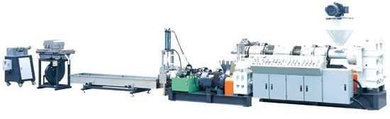 Two Stages Plastic Recycling Pellet Machine Single Screw Plastic Extruder supplier