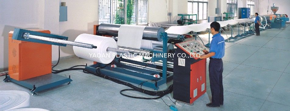 Epe Foam Sheet Production Line , Polythene Plastic Pvc Pp Eva Sheet Making Machine supplier