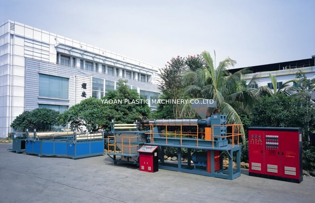 PP PE Plastic Net Making Machine For Aquatic Product / Poultry Farming supplier