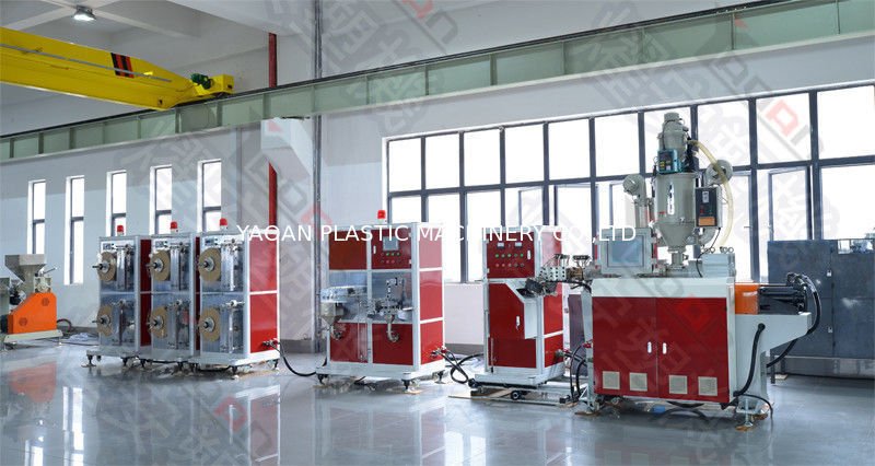 Single Screw Plastic Extruder Carrier Tape Forming Machine With ABB Inverter supplier