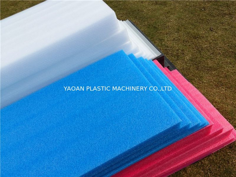 EPE Foam Sheet Making Machine Pvc Sheet Production Line 150kg/Hr Capacity supplier