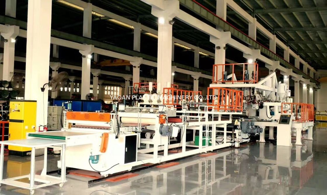 PC, ABS Luggage  Sheet Production Line, CE Certificated, Samsonite Supplier supplier