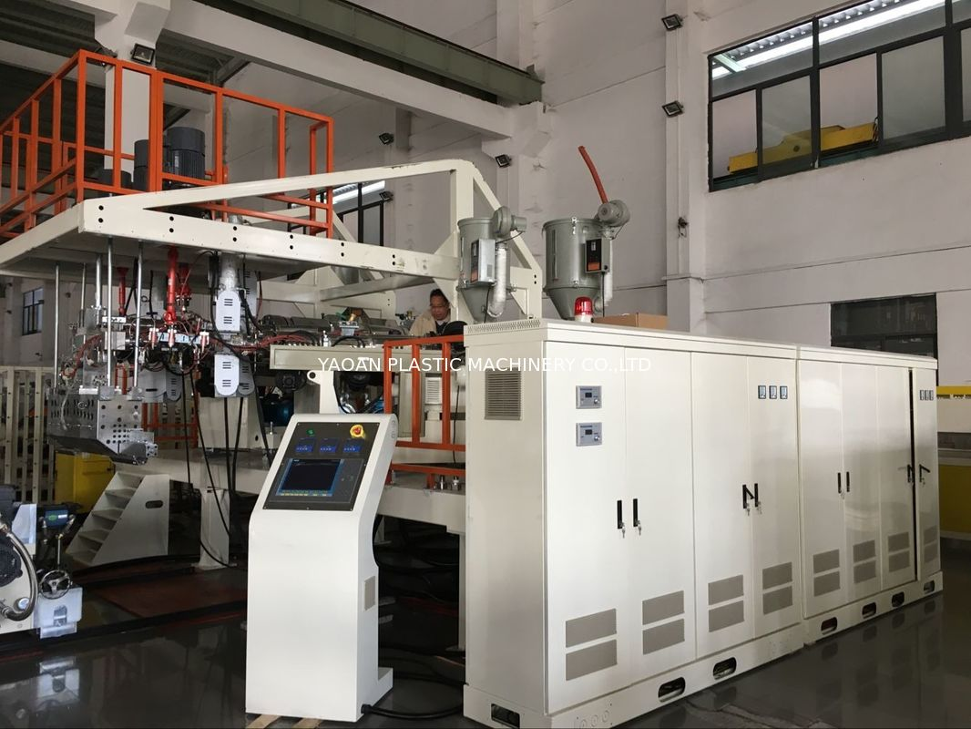 Three Layers PC ABS Co - Extrusion Luggage Sheet Extrusion Machine For Suitcase Making supplier
