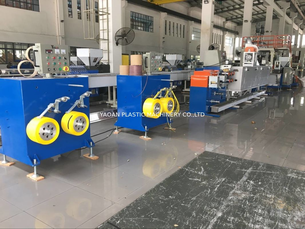 Low Noise Packing Belt Strapping Band Machine , Pp Strap Manufacturing Machine supplier