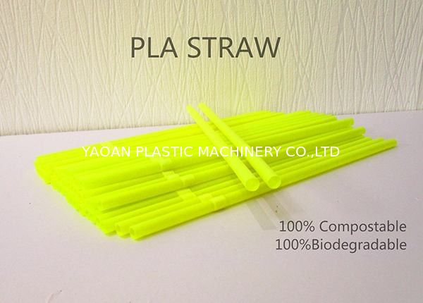 100% Biodegradable PLA Drinking Straw Making Machine Disposable Eco Friendly  Polylactic Acid Straw supplier
