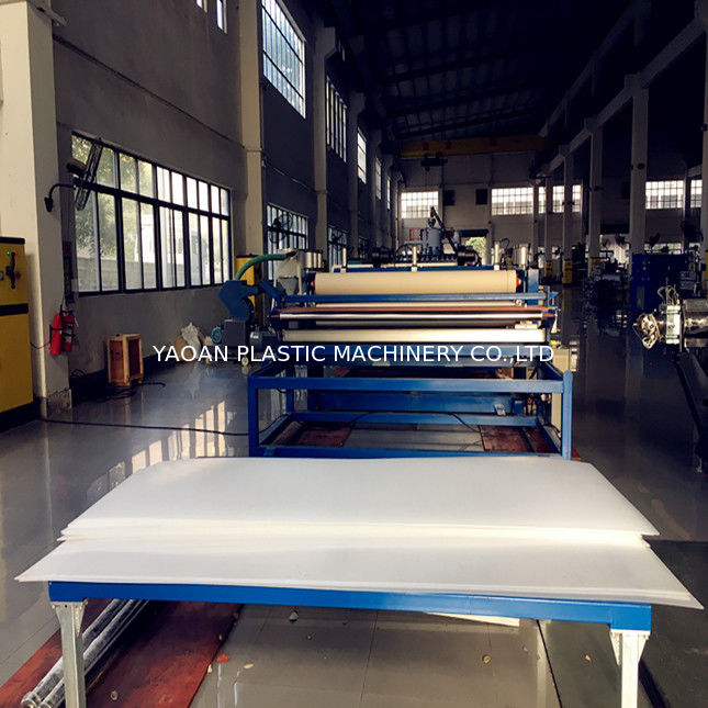 PC PE PP Hollow Profile Sheet Machine AF-1600 / 1800 / 2100 / 2400 supplier