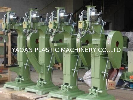3/4HP Steel Nail Machine , Luggage Rivet Machine For Trolley Bag Production supplier