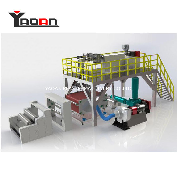 BFE 99% PP MeltBlown Fabric Machine For Respirators supplier