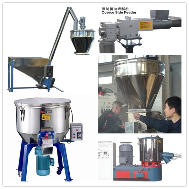 Double Screw Extruder Plastic Recycling Pellet Machine 100-1000kg/Hr Capacity