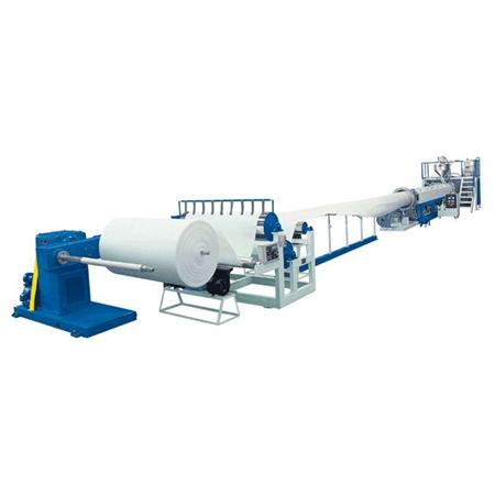 Epe Foam Sheet Production Line , Polythene Plastic Pvc Pp Eva Sheet Making Machine