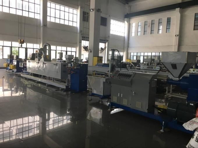 Low Noise Packing Belt Strapping Band Machine , Pp Strap Manufacturing Machine