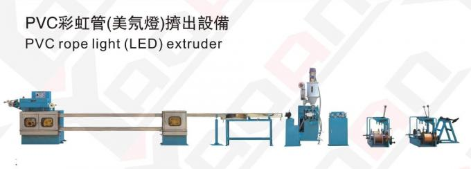 PVC LED Rope Light Extrusion Machine , Outdoor Water Proof CE Certificate