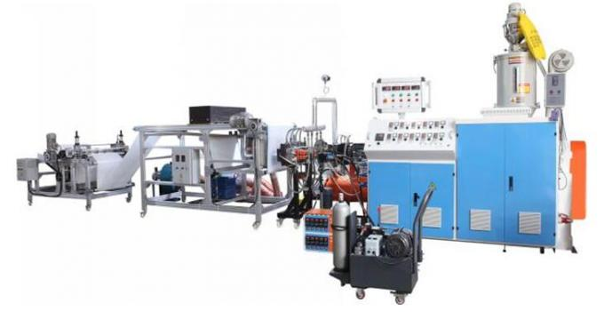 Automatic AF-600mm PP Melt Blown Non Woven Fabric Machine 0