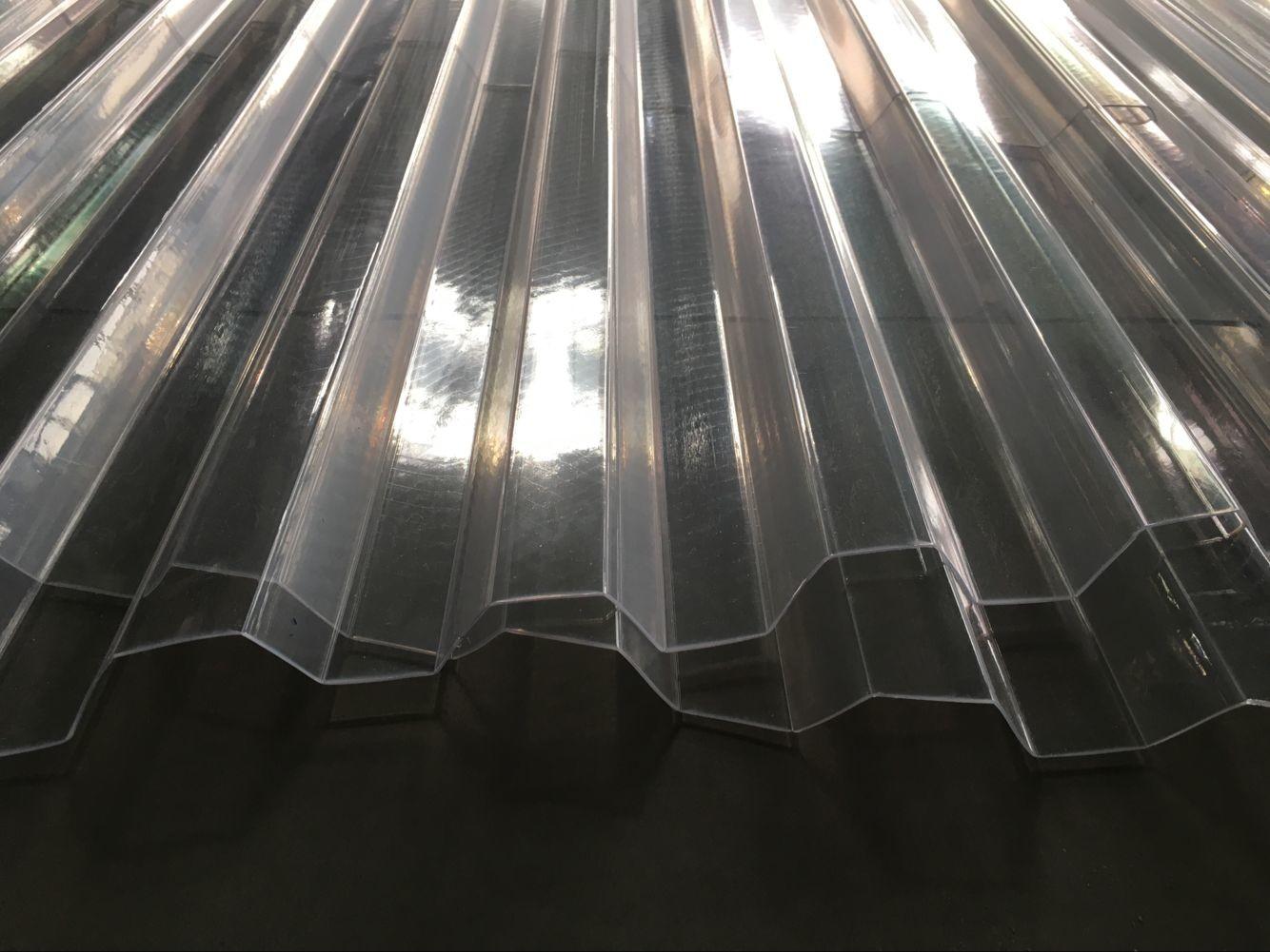 Pvc Clear Plastic Roof Tile Machine For Transparent Roof