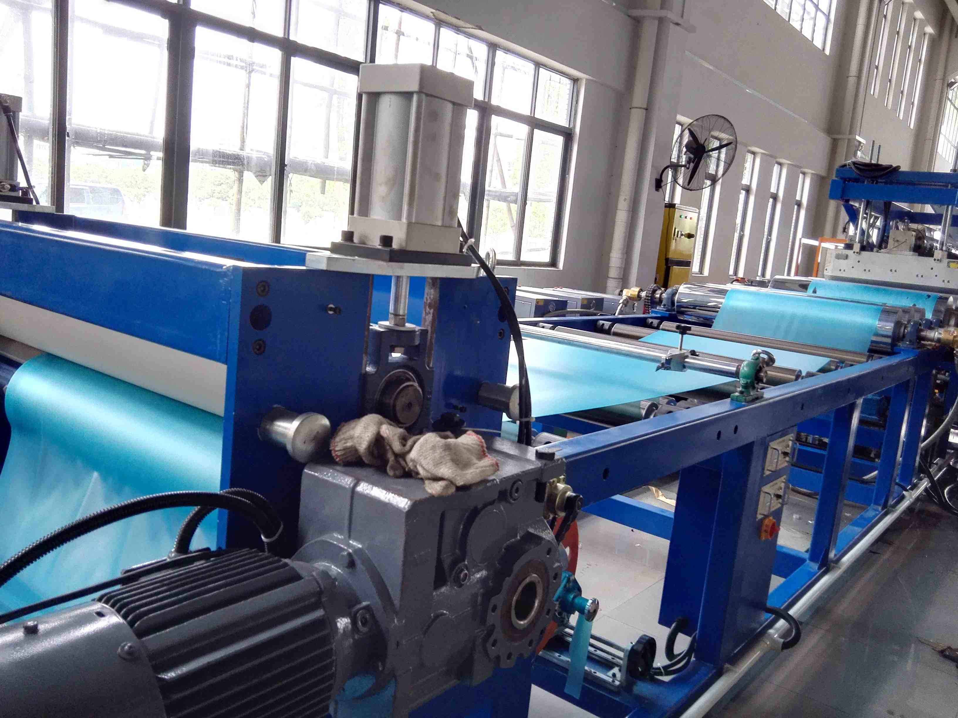Soft Plastic Sheet Extrusion Machine Flexible Pvc Sheet